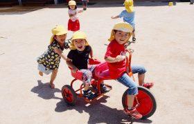 大人気の二人乗り三輪車